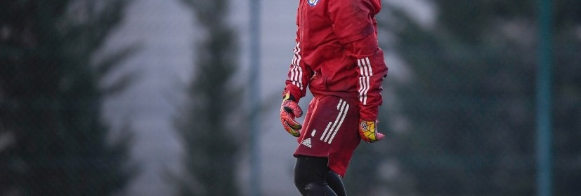 Alyssia Paljevic à l'entraînement.